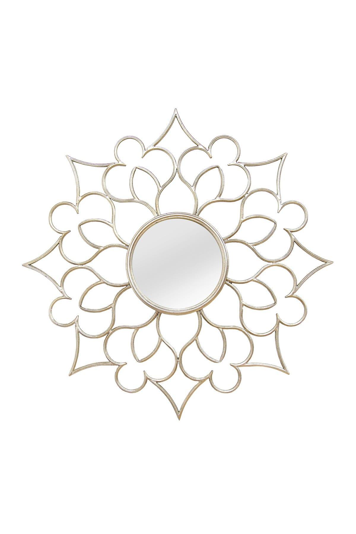 Image of Stratton Home Silver Francesca Wall Mirror