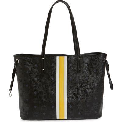 Mcm Medium Reversible Shopper & Pouch - Black (Nordstrom Exclusive)