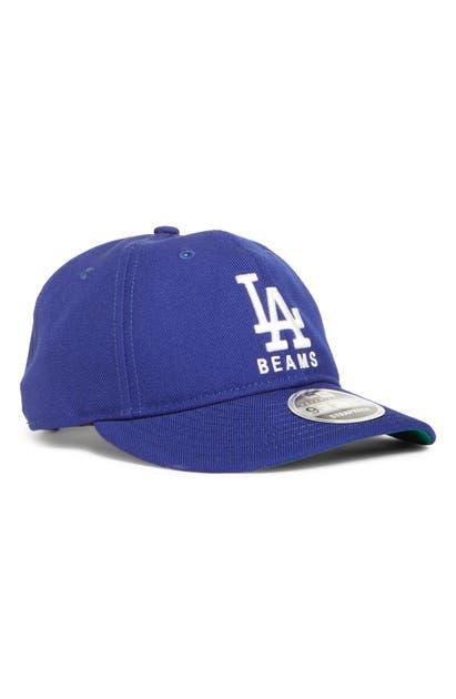 New Era Beams X  9fifty Los Angeles Dodgers Wool Twill Baseball Cap In Blue