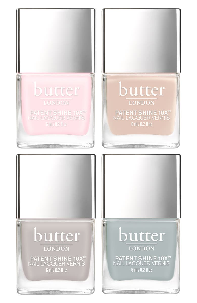 Butter London Palace Pastels Nail Lacquer Set Nordstrom Exclusive Usd 48 Value Nordstrom