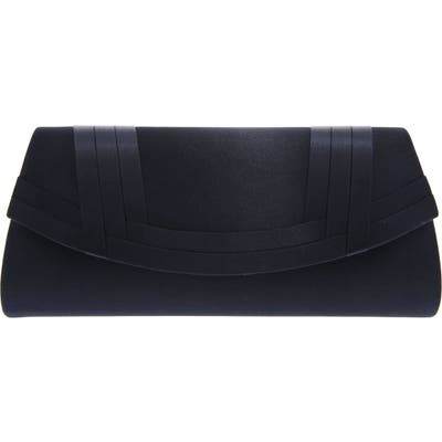 Nina Avis Pleated Classic Clutch - Blue