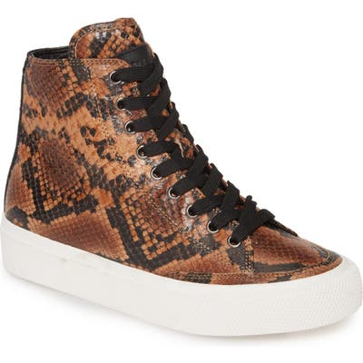 Rag & Bone Army High Top Sneaker, Brown