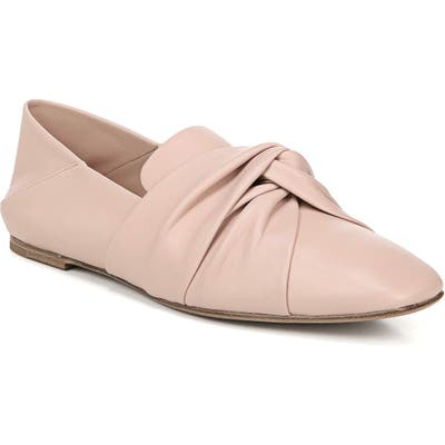 Vince Haddie Knotted Convertible Loafer- Pink