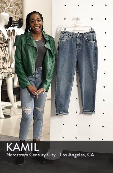 High Waist Light Denim Mom Jeans, sales video thumbnail