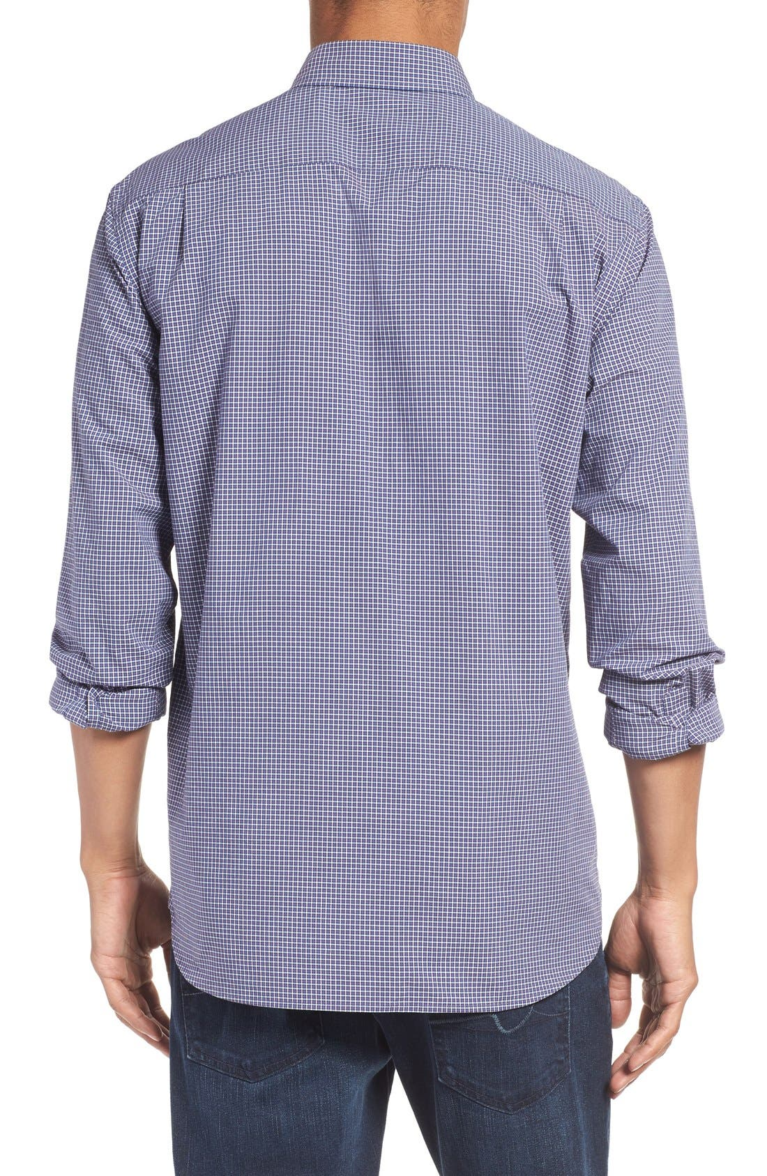 Image of RODD AND GUNN 'Pannell' Check Cotton Sport Shirt