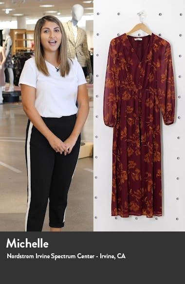 Button Long Sleeve Midi Dress, sales video thumbnail