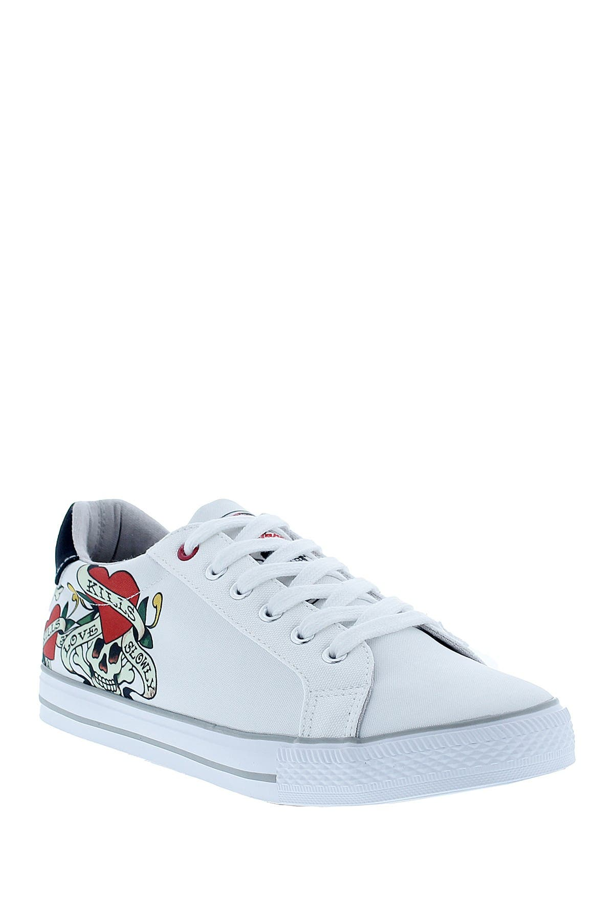 Image of Ed Hardy Thread Sneaker