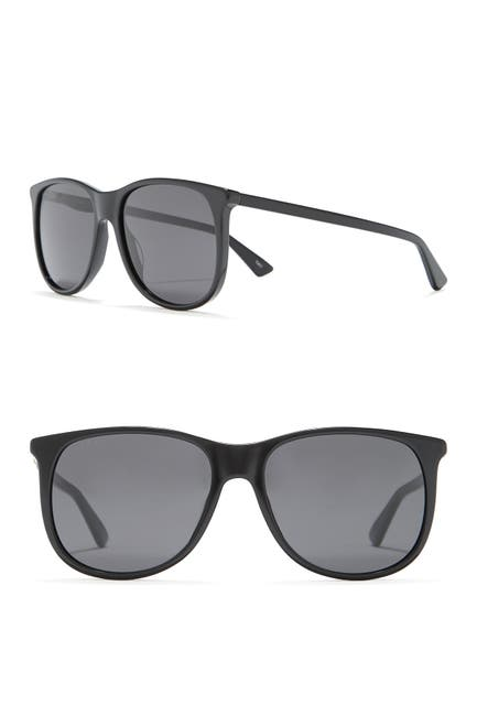 Image of GUCCI 57mm Square Sunglasses