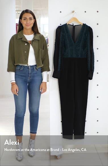 Cori Long Sleeve Lace Jumpsuit, sales video thumbnail