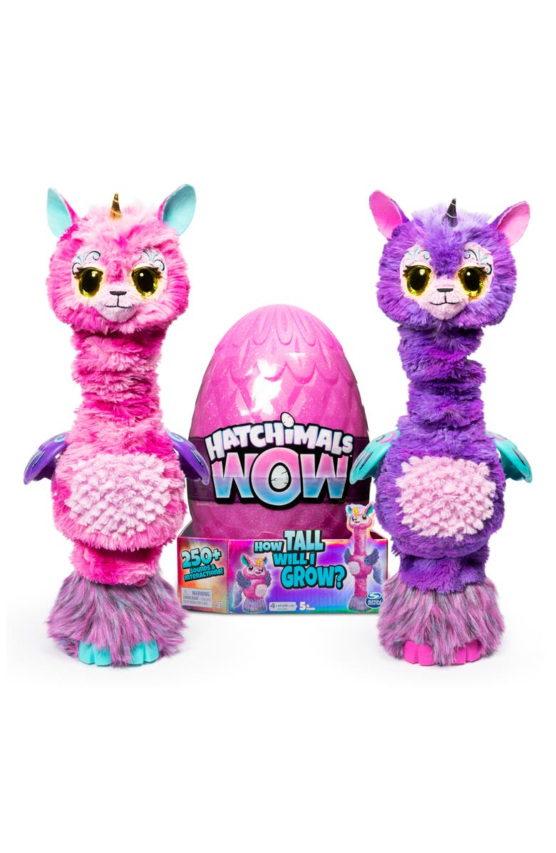 SPIN MASTER Hatchimals Wow! Llalacorn Toy, Main, color, MULTI