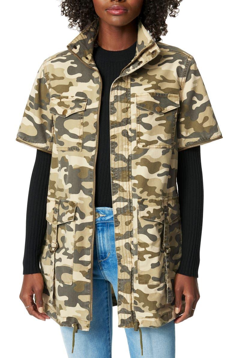 JOE'S The Camo Jacket, Main, color, GREEN CAMO