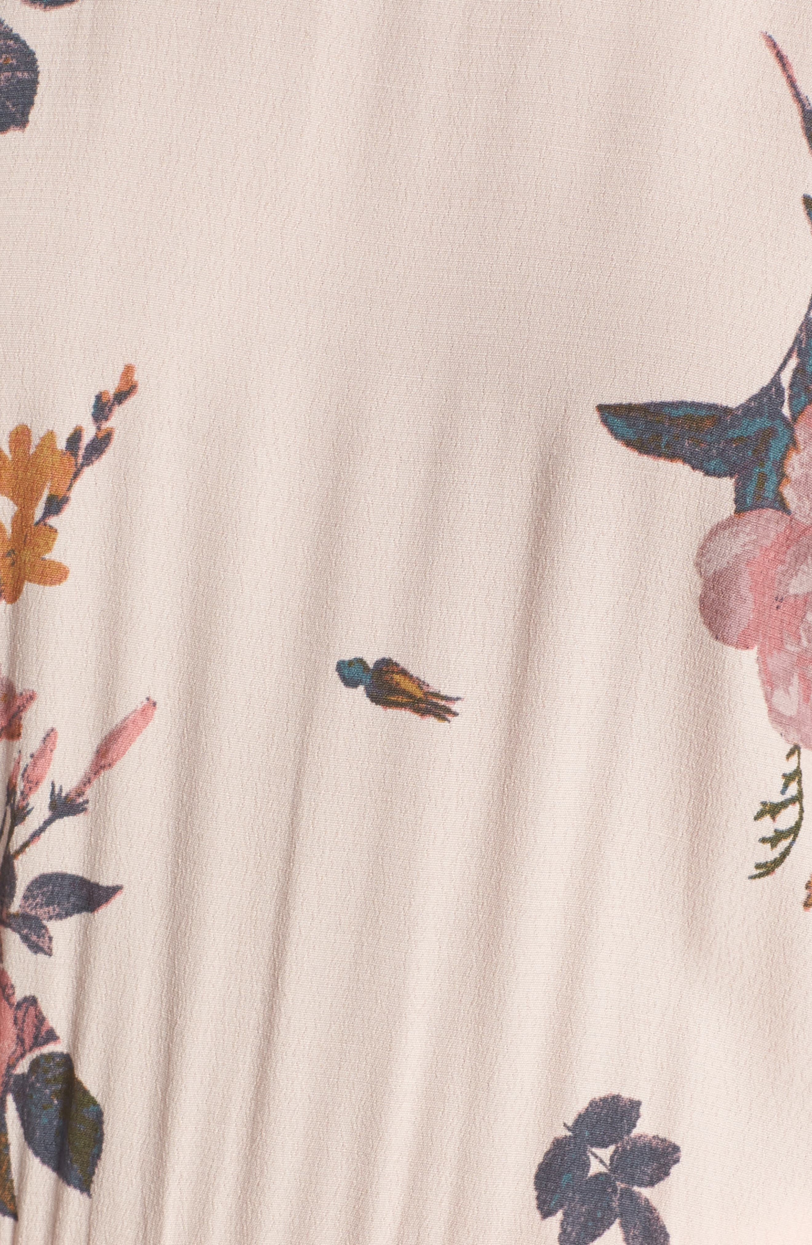 ,                             Cold Shoulder Midi Dress,                             Alternate thumbnail 12, color,                             681