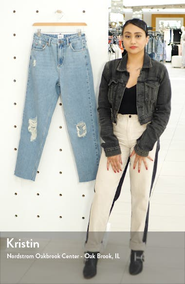 Pax Ripped High Waist Jeans, sales video thumbnail
