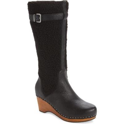 Kelsi Dagger Brooklyn Jagger Wedge Boot- Black