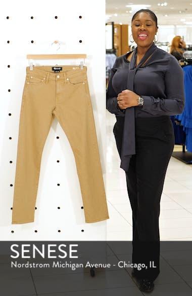 Garment Dyed Slim Fit Jeans, sales video thumbnail