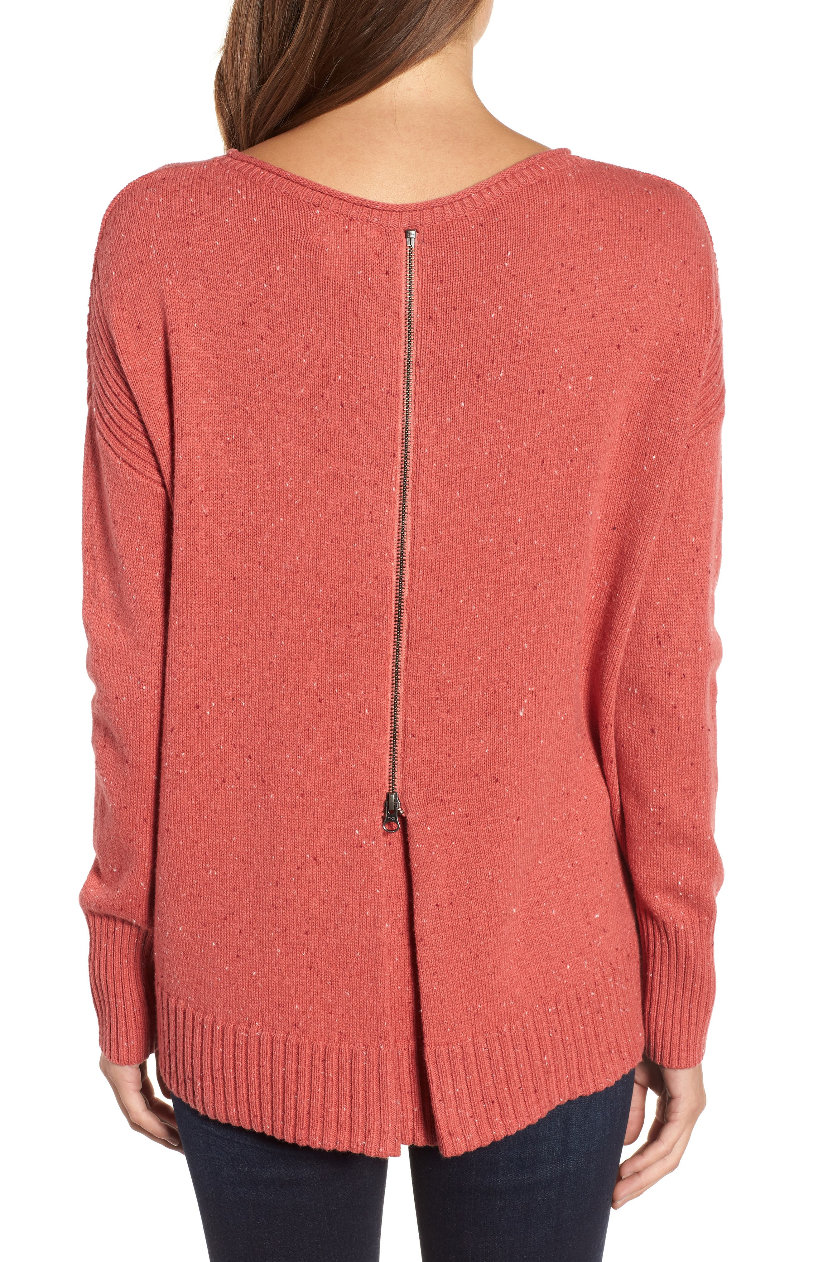 ,                             Back Zip Pullover,                             Alternate thumbnail 8, color,                             660