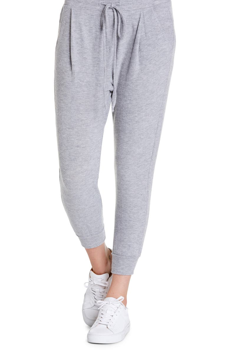 MICHAEL STARS Jenna Cropped Joggers, Main, color, HTR.GREY