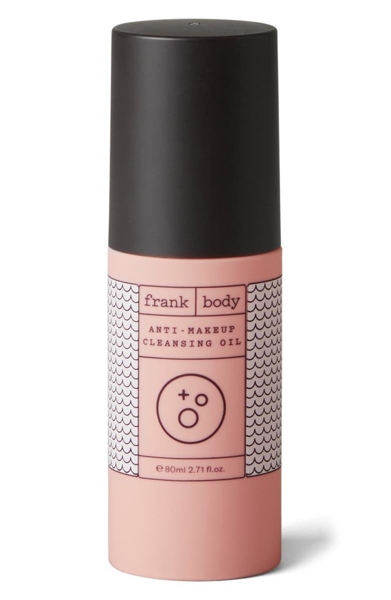 FRANK BODY Anti-Makeup Cleansing Oil, Main, color, NO COLOR