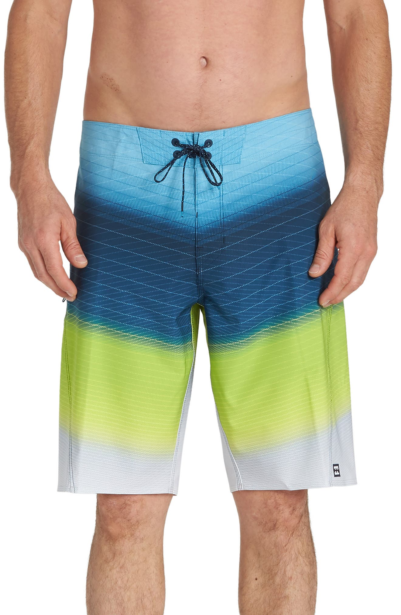 Billabong Fluid Pro Board Shorts, Green