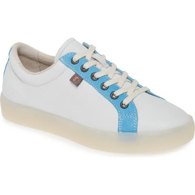 Softinos By Fly London Suri Low Top Sneaker - White