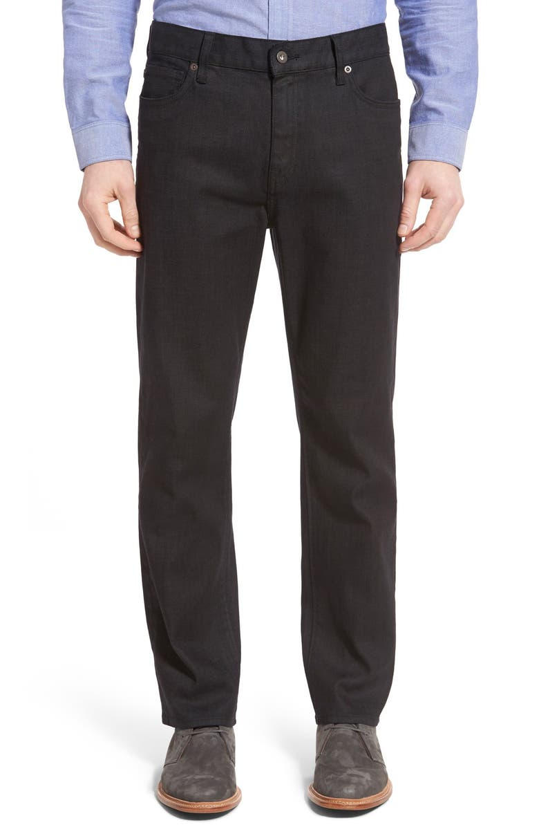 CUTTER & BUCK Greenwood Relaxed Fit Jeans, Main, color, BLACK