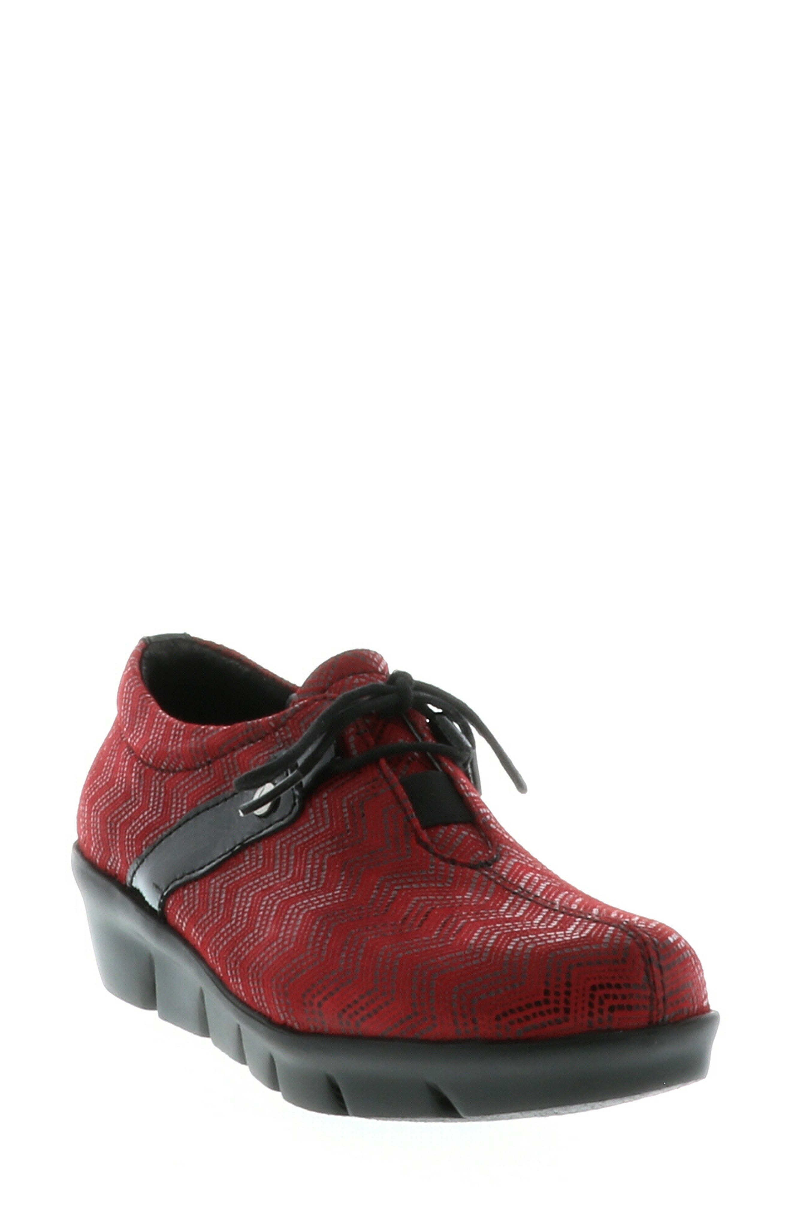 Wolky Muse Oxford-9 - Red