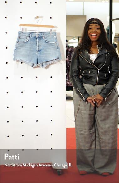 Parker Cutoff Organic Cotton Denim Shorts, sales video thumbnail