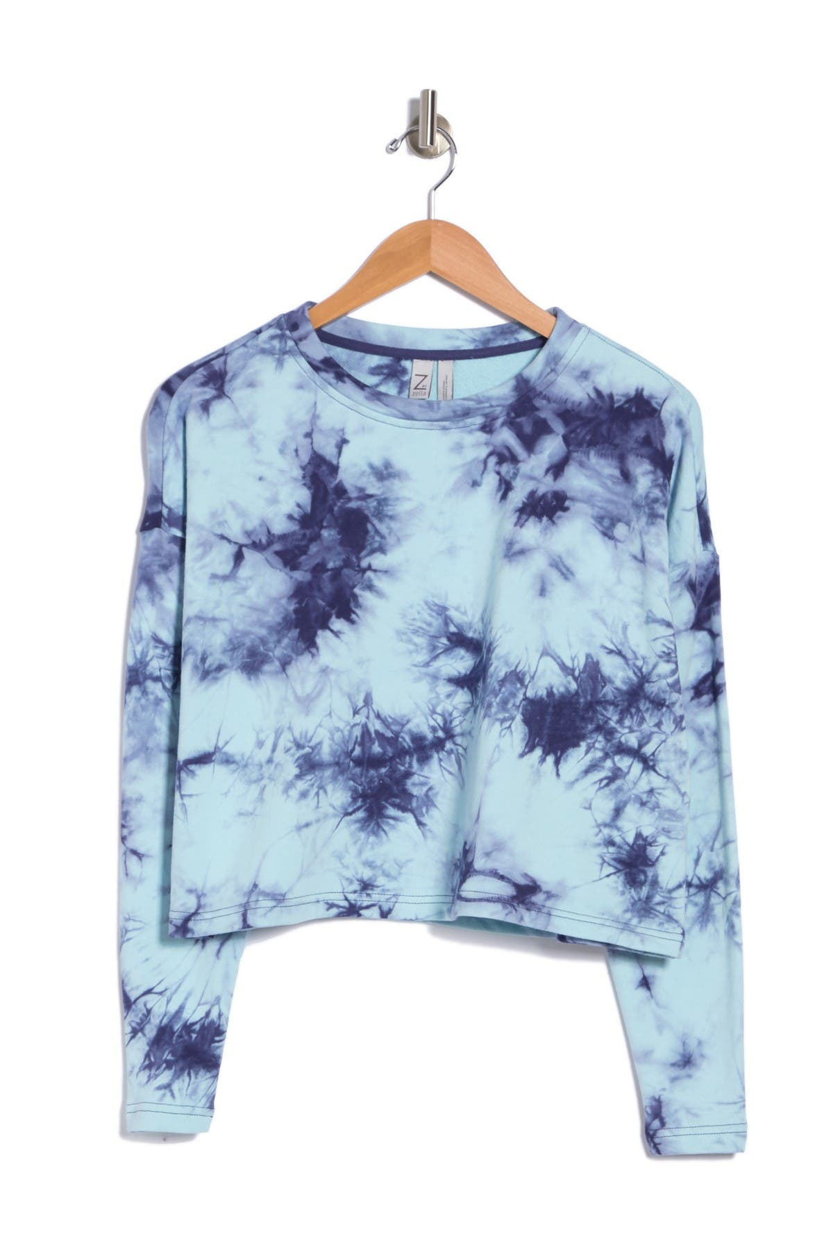 Image of Z By Zella Long Sleeve Meadow Pullover