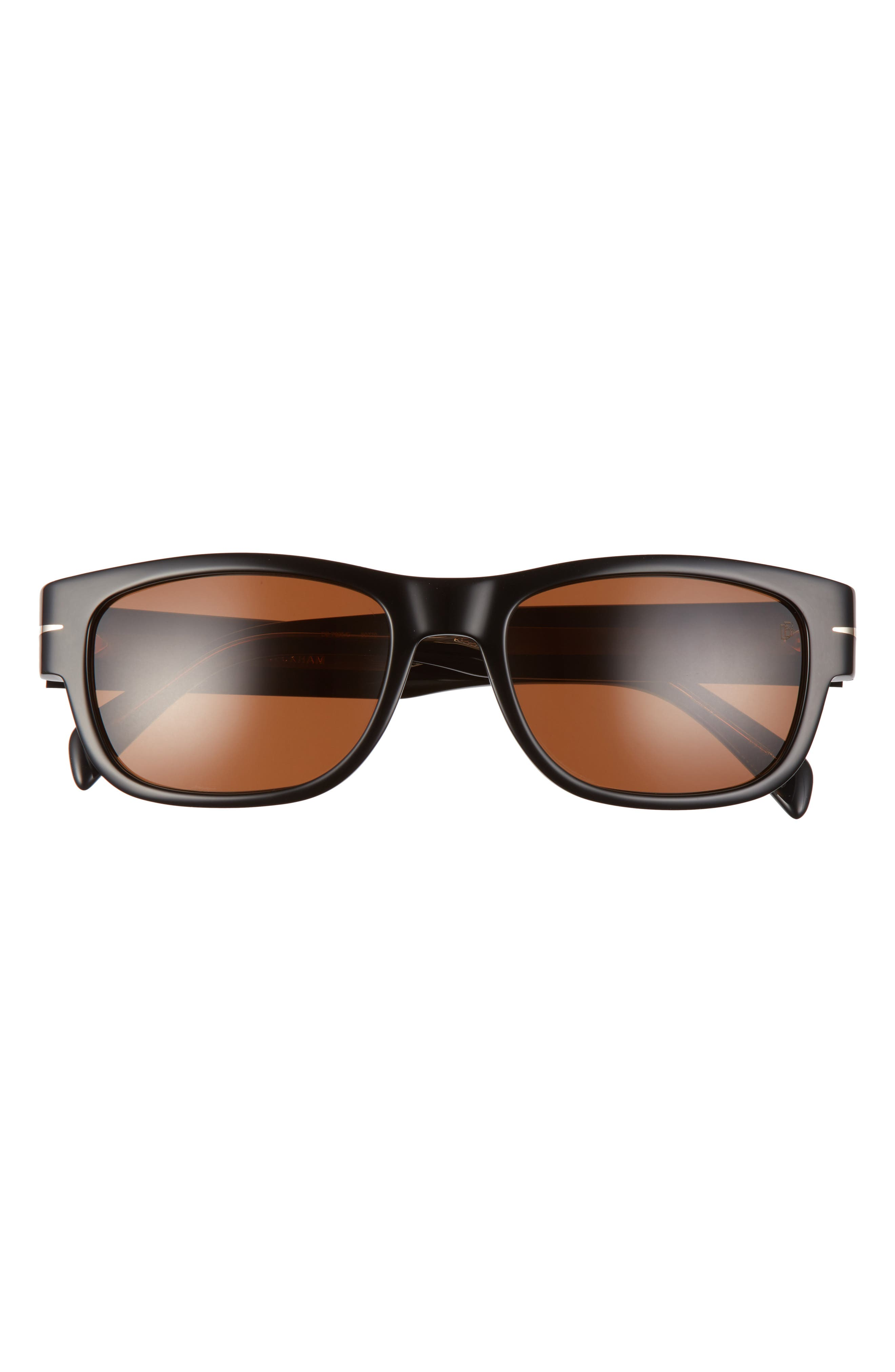 Men's Eyewear By David Beckham 56mm Rectangular Sunglasses