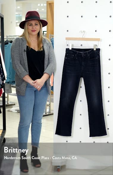 Kick Fit High Waist Crop Jeans, sales video thumbnail