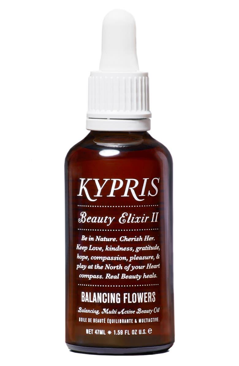 KYPRIS Beauty Elixir II: Balancing Flowers Moisturizing Face Oil, Main, color, NO COLOR