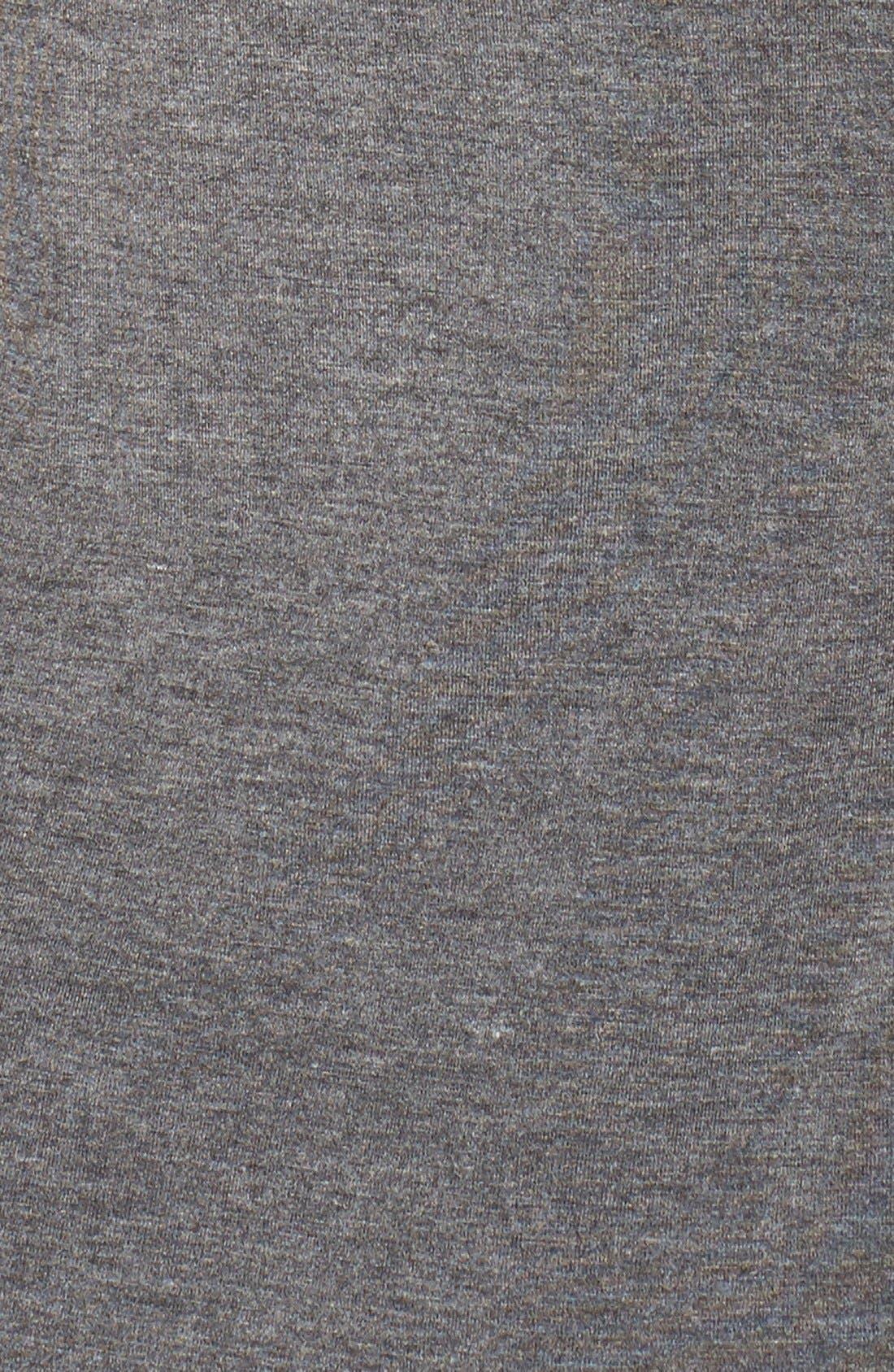 ,                             Lace Racerback Jersey Chemise,                             Alternate thumbnail 5, color,                             SMOKE