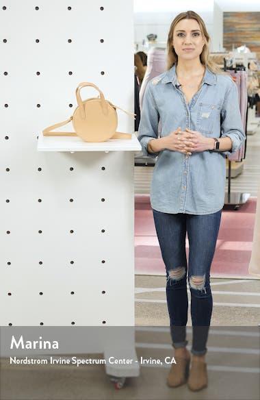 Juno Circle Leather Crossbody Bag, sales video thumbnail