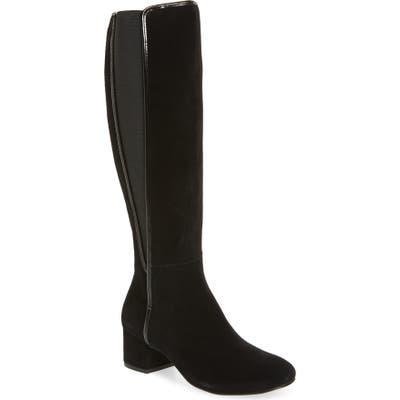 Donald Pliner Cathi Tall Boot- Black