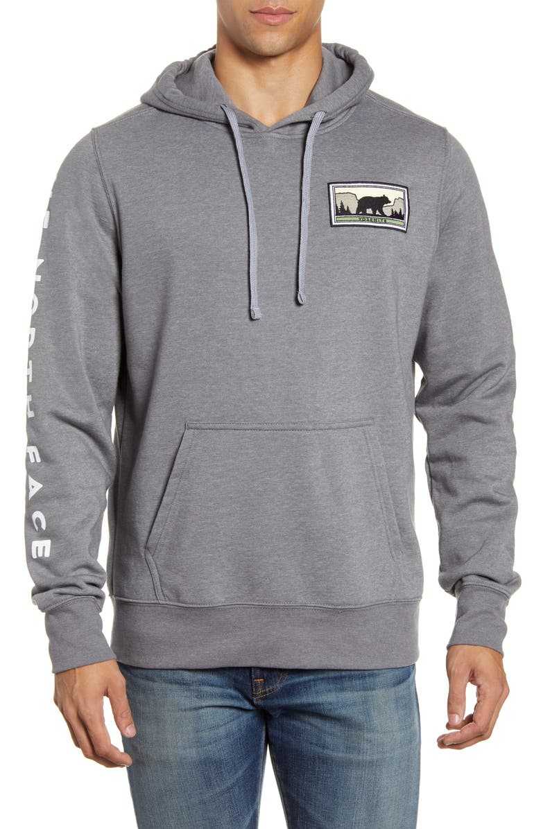 THE NORTH FACE Bottle Source Hoodie, Main, color, TNF MEDIUM GREY HEATHER