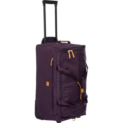 Brics X-Travel 28-Inch Rolling Duffle Bag - Purple