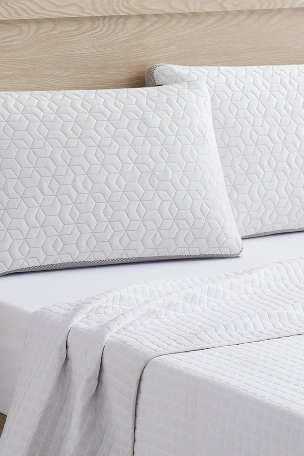 Modern Threads Feather Touch Rayon from Bamboo Pillow - White - King at Nordstrom Rack