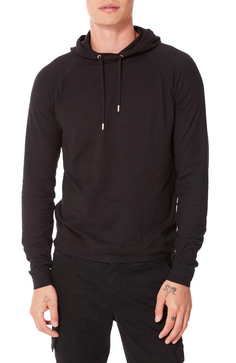 GOOD MAN BRAND Legend Slim Fit Pullover Hoodie, Main, color, BLACK