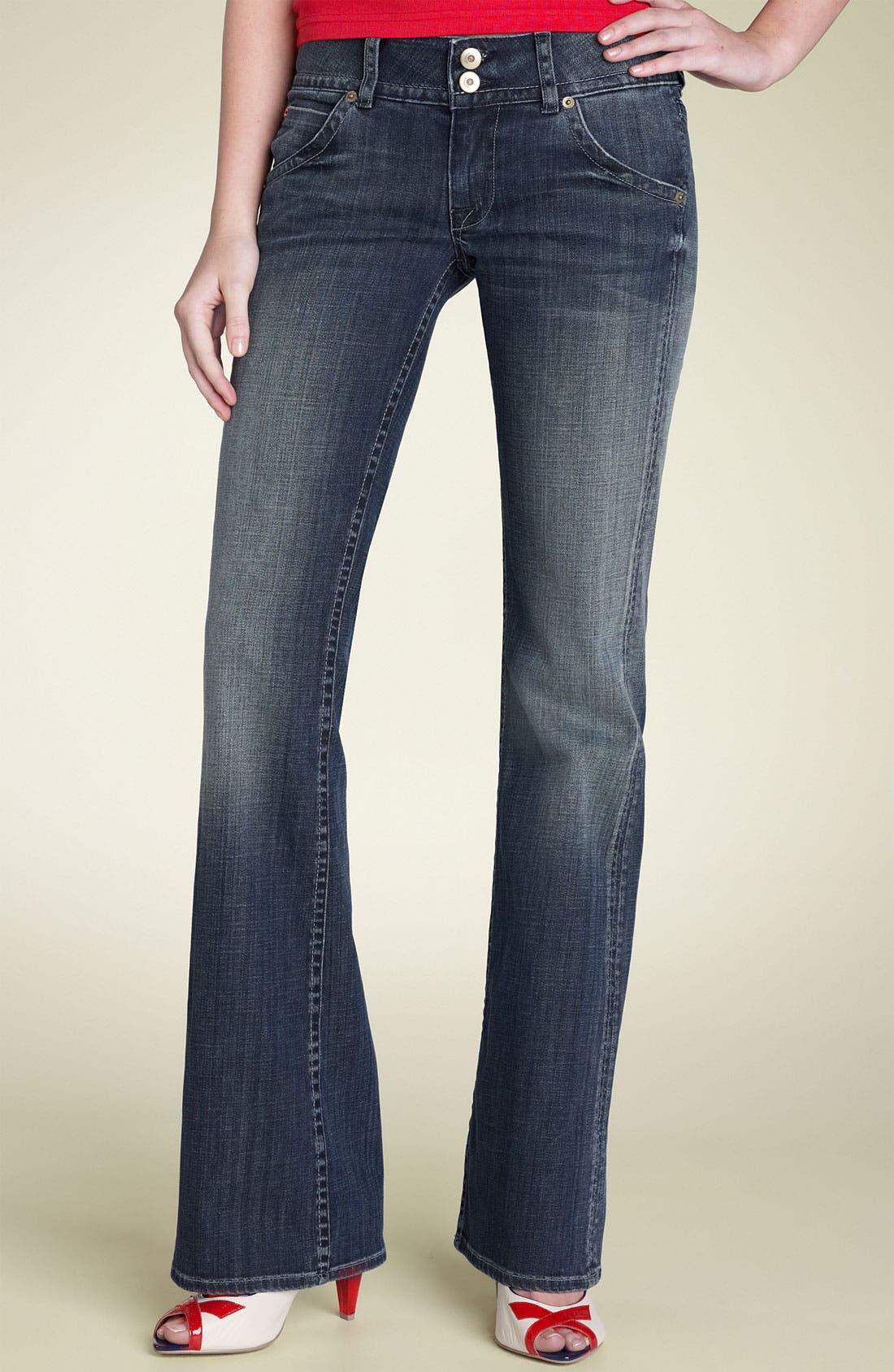,                             Signature Flap Pocket Bootcut Jeans,                             Main thumbnail 70, color,                             475