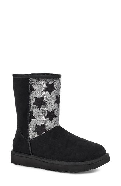 Image of UGG Classic Sequin Stars Short Boot