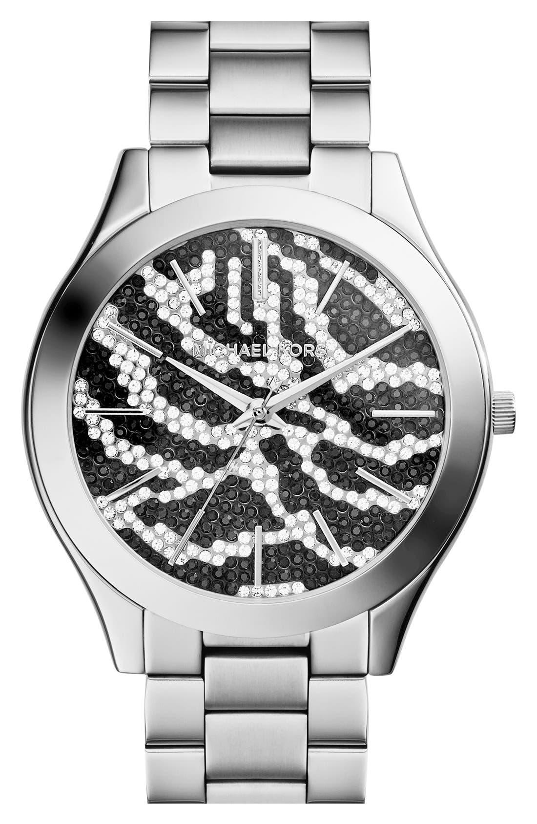 ,                             'Slim Runway' Bracelet Watch, 42mm,                             Main thumbnail 20, color,                             041