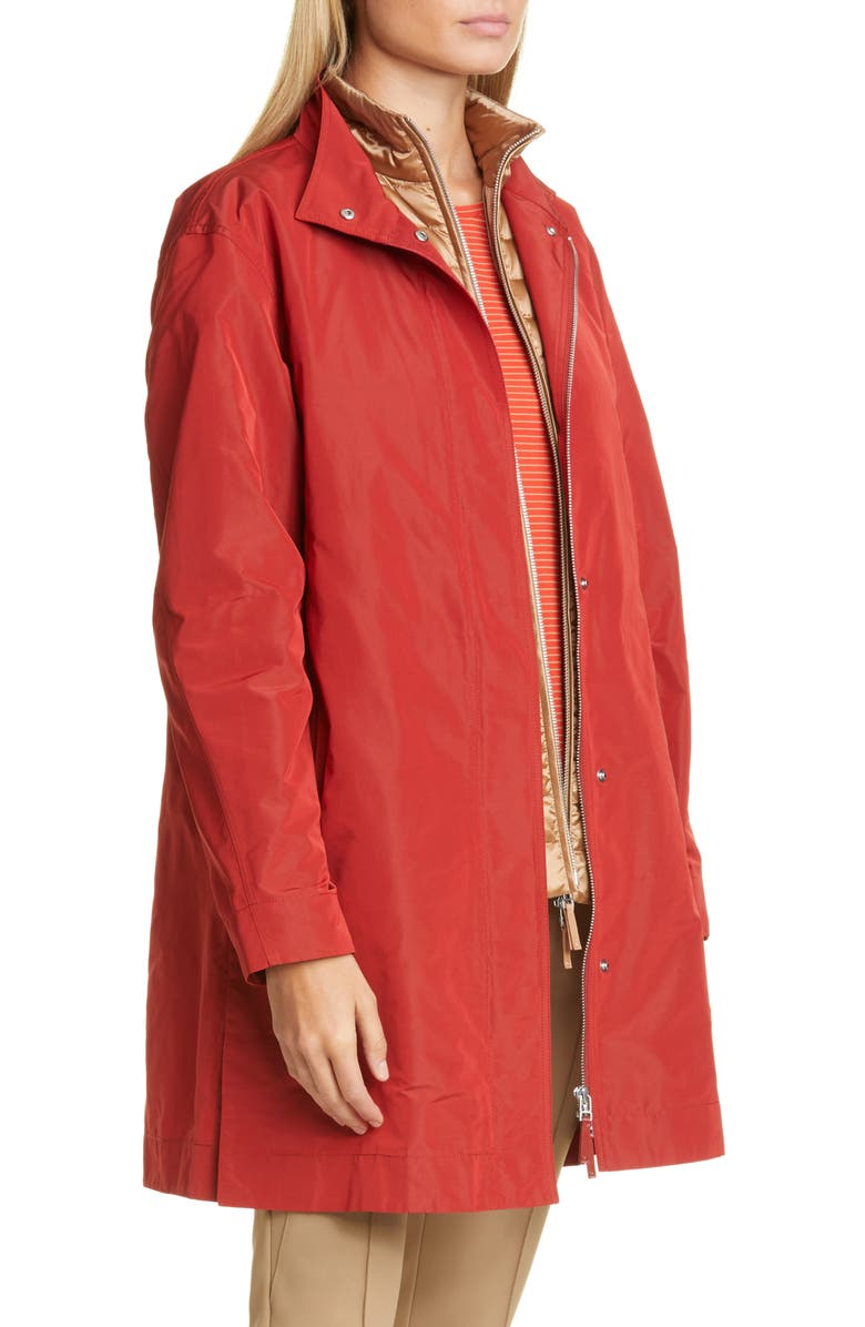 LAFAYETTE 148 NEW YORK Savannah Jacket, Main, color, CARNELIAN IRIDESCENT
