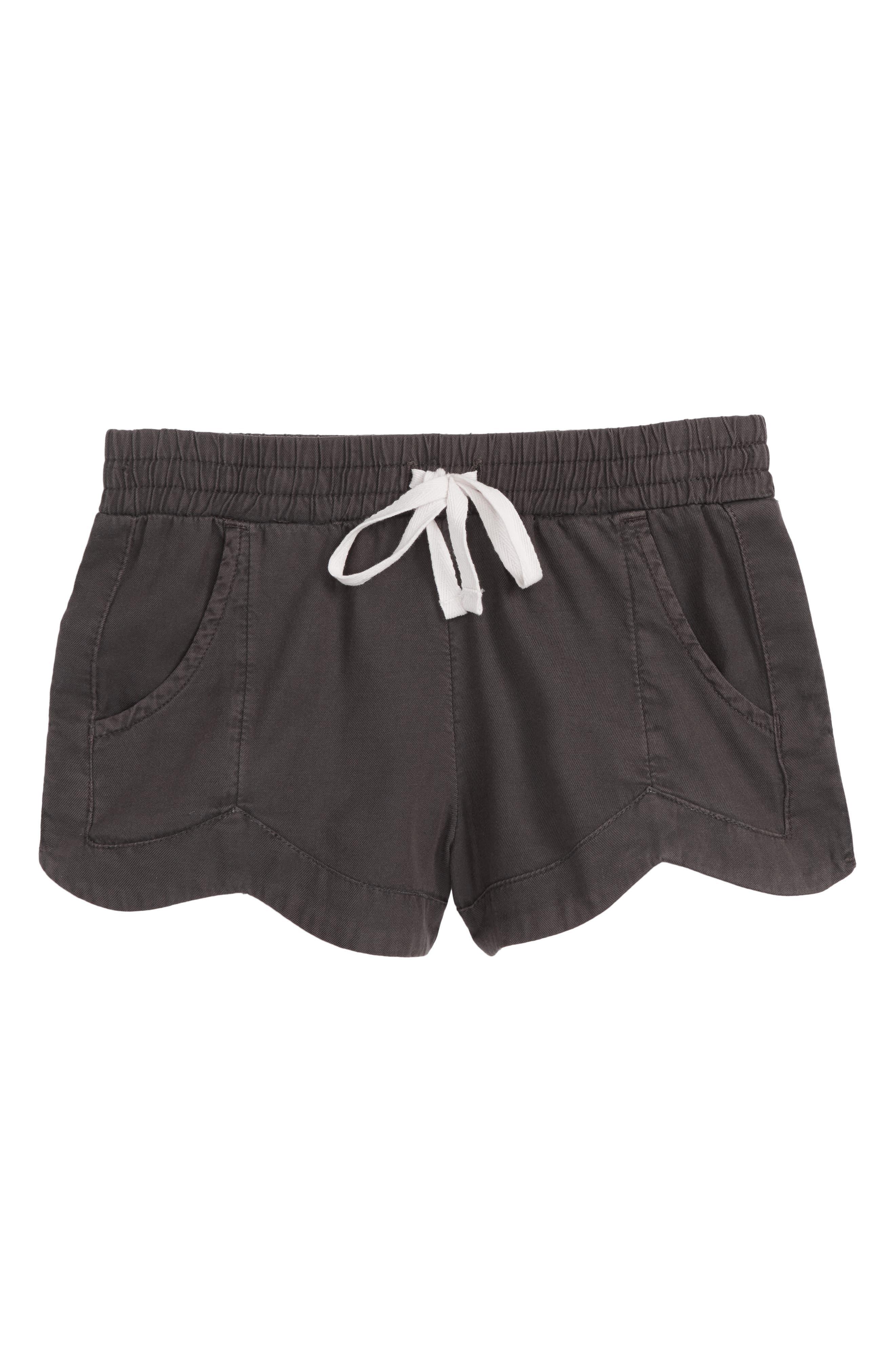Girls Billabong Made For You Woven Shorts Size M (1012)  Black