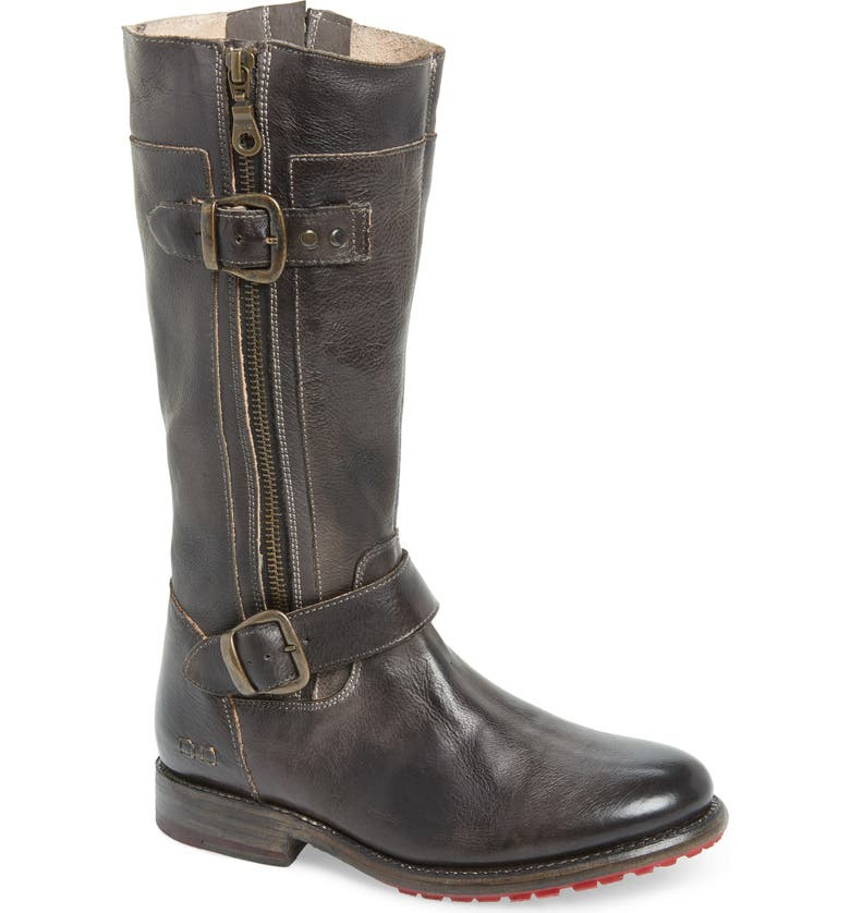 BED STU Gogo Boot, Main, color, BLACK RUSTIC