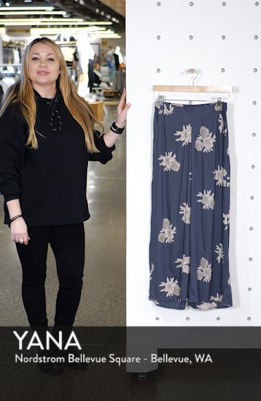 Midnight Avenue Floral Print Pants, sales video thumbnail