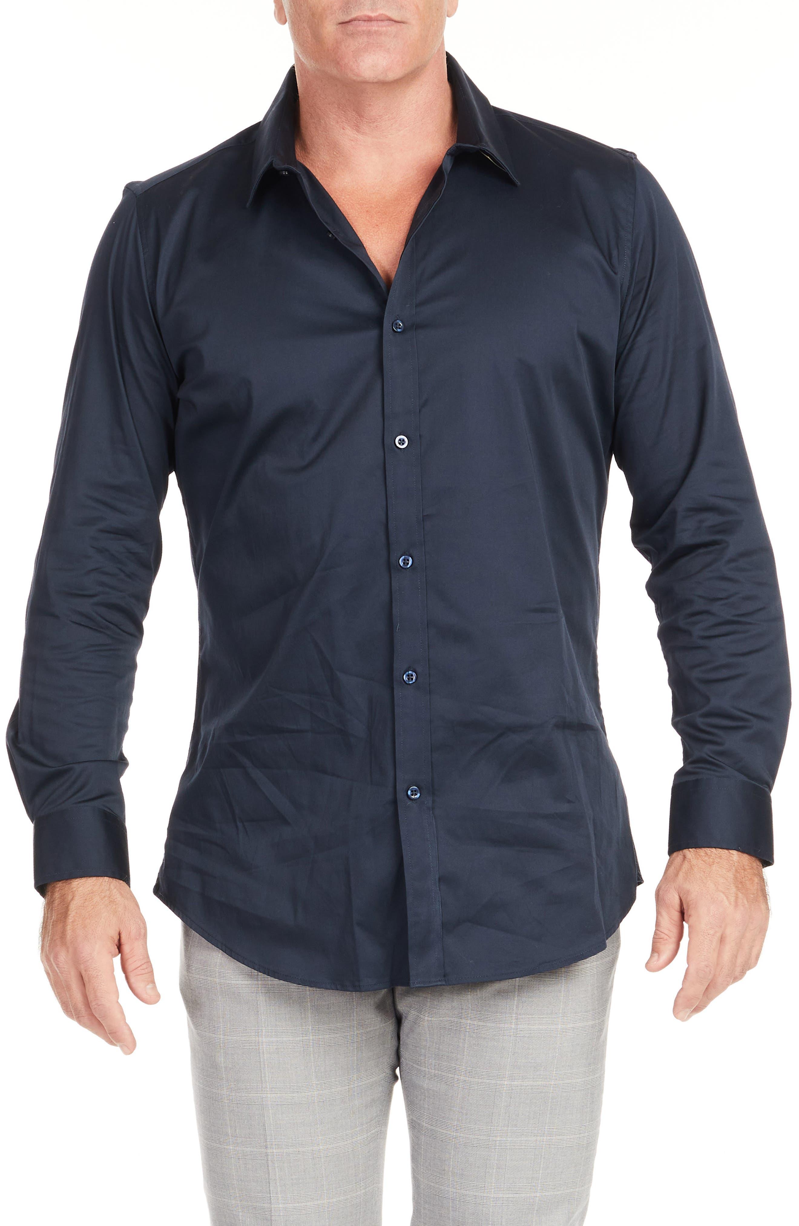 Bahamas Regular Fit Stretch Button-Up Shirt