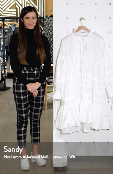 Macy Pleated Oversized Shirtdress, sales video thumbnail