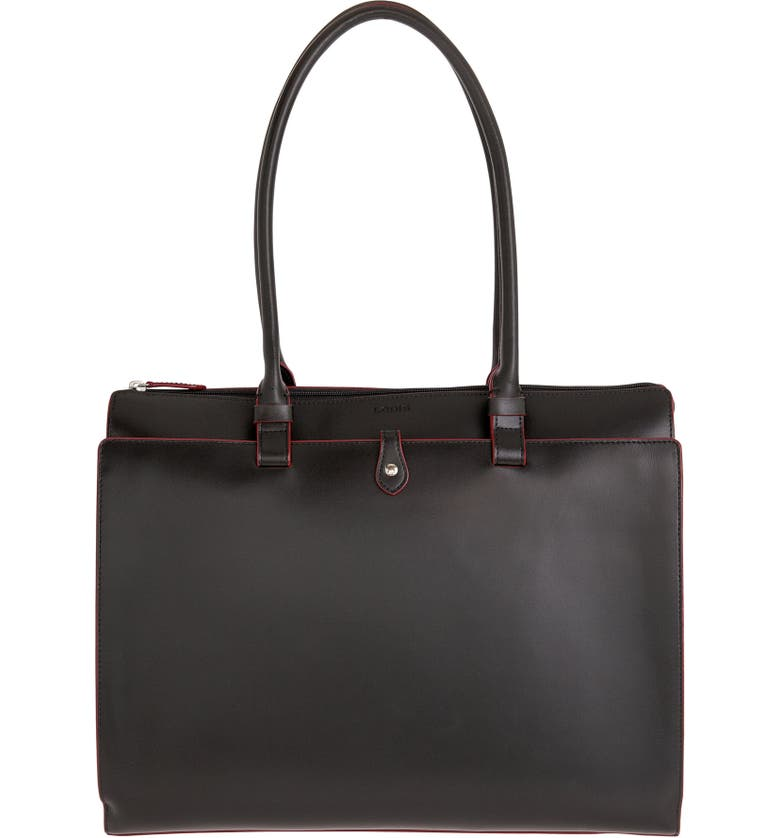 LODIS LOS ANGELES Lodis 'Audrey Collection - Jessica' Leather Tote, Main, color, 001