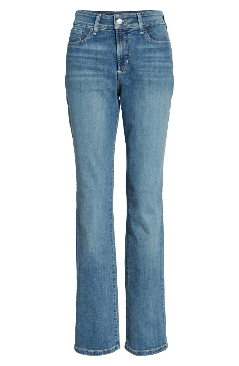 NYDJ Marilyn Stretch Straight Leg Jeans, Main, color, HEYBURN