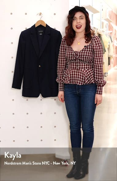 Textured Cotton Blend Jacket, sales video thumbnail